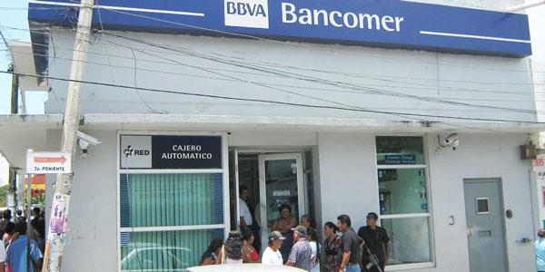 Hermetismo en asalto a bancomer de puerto escondido for Numero del banco exterior