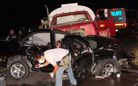 Trágico accidente en Juchitán