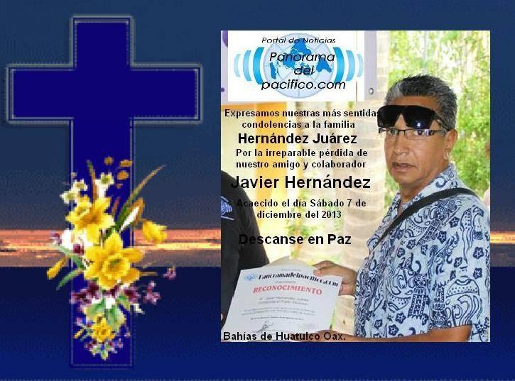Descanse en PAZ… Javier Hernández Juárez
