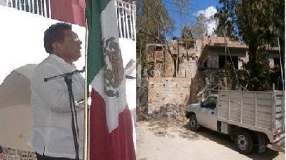 Inicia obra Raymundo Carmona Laredo en Pochutla
