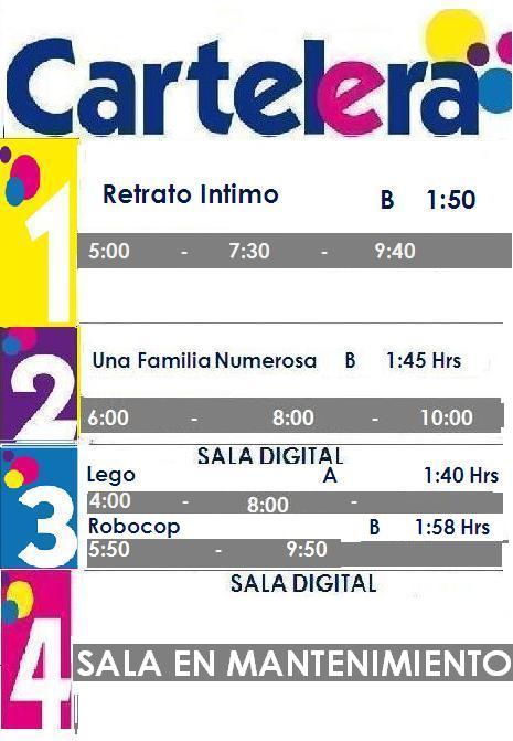 Cartelera Cinemad