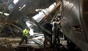 Choque de tren en Nueva Jersey