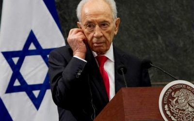 Lamenta Gobierno de México fallecimiento de Shimon Peres