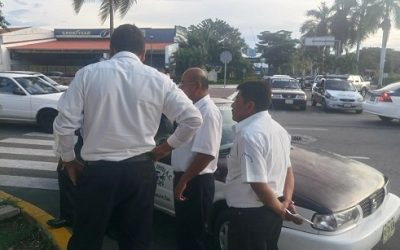 Taxista atropello estudiante en Huatulco