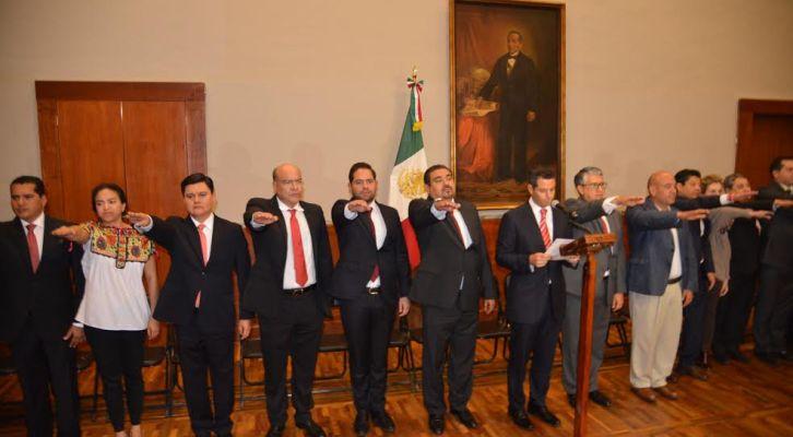 Nombramientos del gabinete legal del Oaxaca