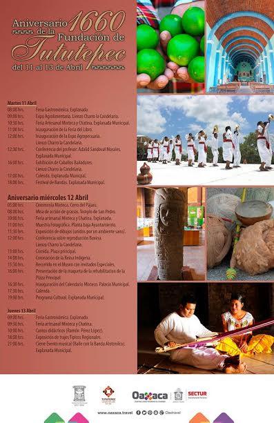 Celebran mil 660 años de la fundación de San Pedro Tututepec: Sectur