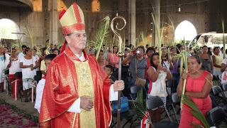 Semana Santa, tiempo de reflexión: obispo de la Costa