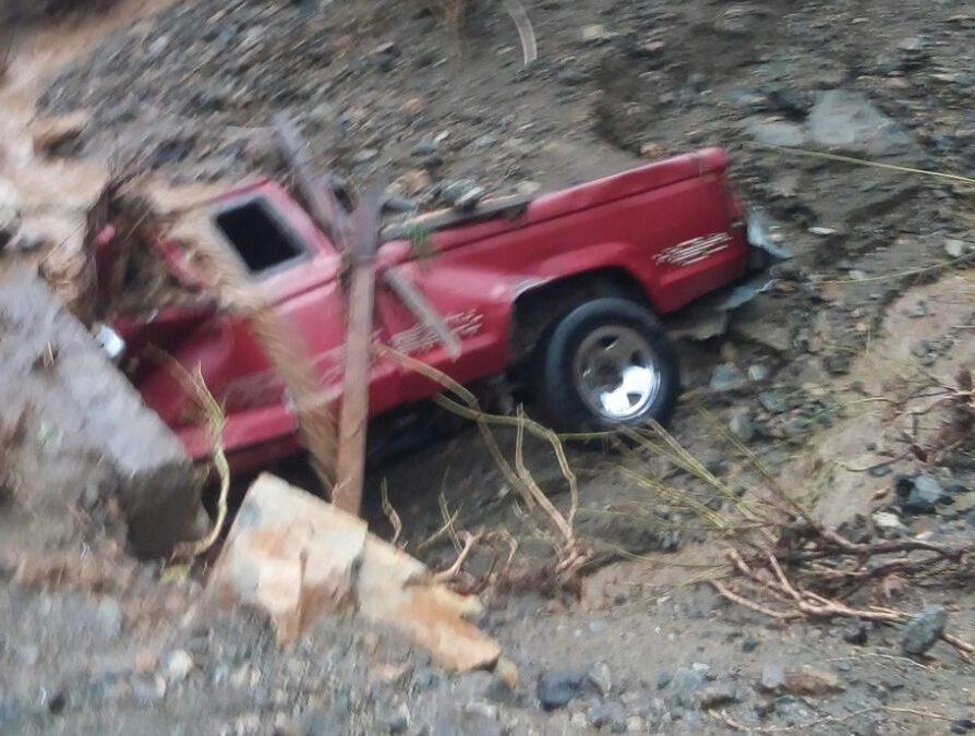 Una mujer desaparecida y daños materiales dejó lluvia en Teotitlán