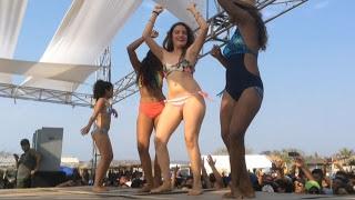 Espectacular concurso de la Chica BiKini 2017 en Corralero, Pinotepa