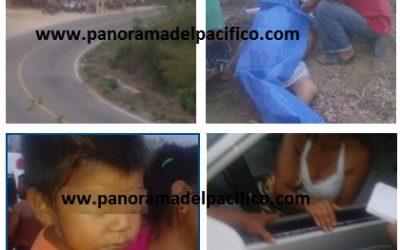 Conductora atropella a mujeres de Prospera y muere una en Pochutla