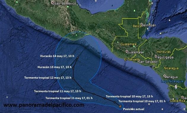 Alerta por depresión tropical en la costa de Oaxaca