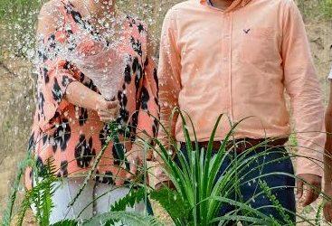 José Hernández y María Elena Orantes inauguran sistema de agua potable en colonia Vicente Guerrero