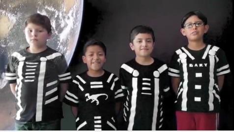 Niños de Huajuapan, finalistas en el Moonbots 2017