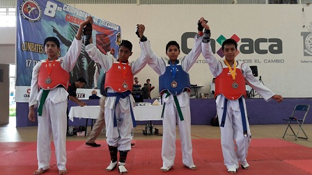 Guerreros Indomables regresan con medallas