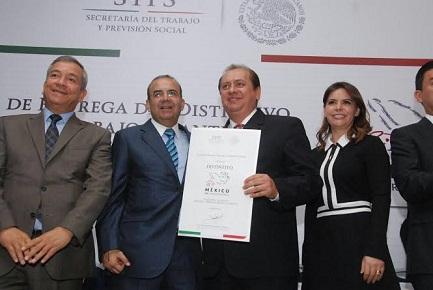 Gerencia Liconsa Tlaxcala recibe distintivo