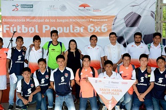 Inaugura Gobierno de Huatulco eliminatoria de Fútbol Popular 6×6