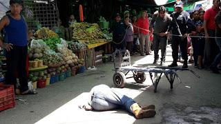 Matan a balazos a hombre en la Central de Abastos de Oaxaca