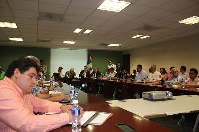 Se instala Comité de Evaluación de Daños por las afectaciones de lluvias en 126 municipios del Estado