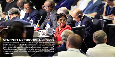 Venezuela le revira al Gobierno de EPN