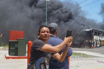 No hay investigación por crimen a periodistas en protestas de la S-22, informa la PGR