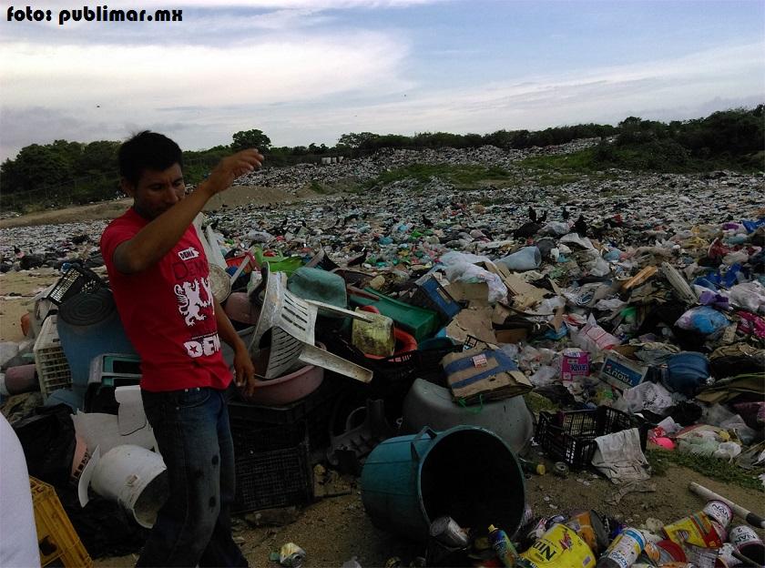 Tapan basurero pobladores de La Ciénega, Pochutla
