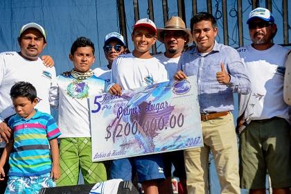 5to Torneo Internacional de Pesca Deportiva de Pez Vela Huatulco 2017