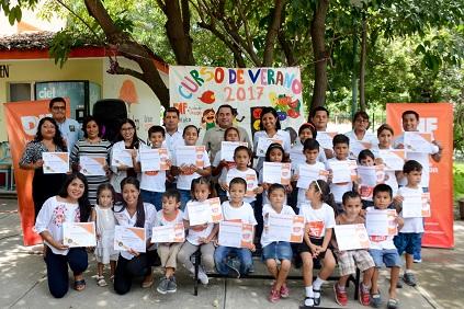DIF Municipal Huatulco clausura Curso de Verano 2017