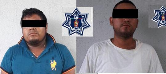 Detienen a dos en el  Istmo por delitos contra la salud