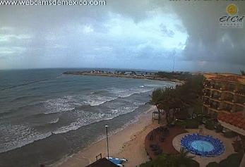 Emiten alerta en Quintana Roo por la tormenta tropical Franklin