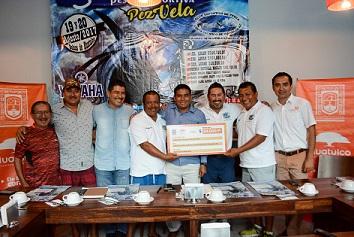 Presentan 5to Torneo Internacional de Pesca Deportiva de Pez Vela Huatulco 2017