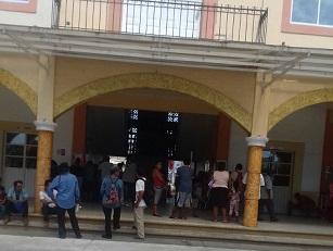 Toman palacio de Pinotepa Nacional