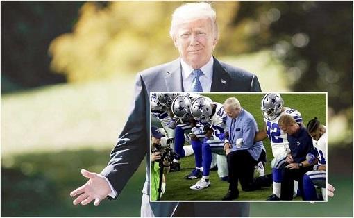 Donald Trump pide cambiar ley tributaria en la NFL