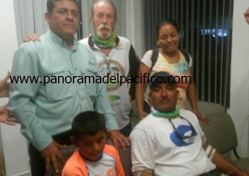 Más de 10 horas remando para salvar su vida, náufragos de Huatulco