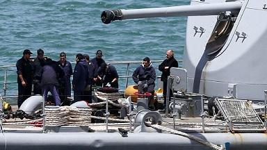 Detectan una mancha de calor durante la búsqueda del submarino argentino