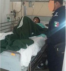 Fue intervenido quirurgicamente el elemento de la policía estatal que fue herido en una emboscada en Tlaxiaco,