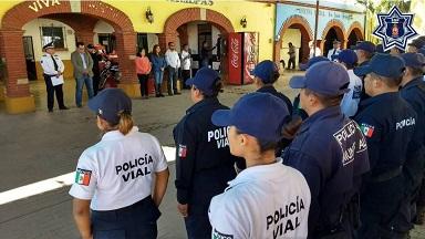 """Inicia curso """"Primer respondiente y cultura vial"""" En San Jacinto Amilpas: SSPO"""