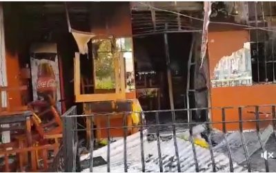 """Incendio en el Restaurant """"El camaron Borracho"""""""