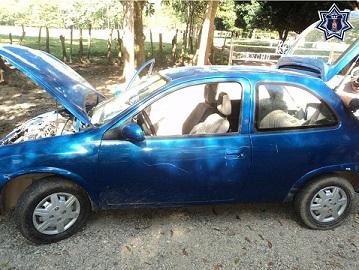 Vehículo con el número de identificación alterado fue asegurado en el Papaloapan