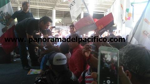 Pleito de líderes de Huatulco, por la llegada de Obrador
