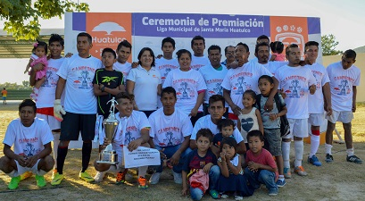 Gobierno Municipal Huatulco impulsor del deporte.