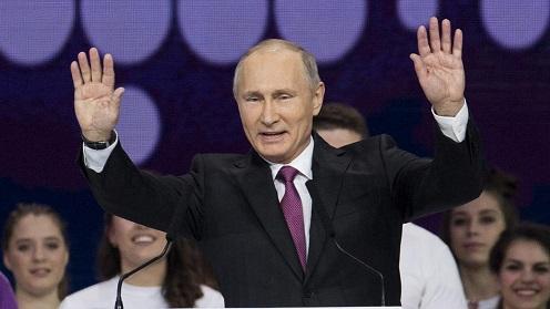 Putin anuncia su candidatura a la reelección en las presidenciales rusas de 2018