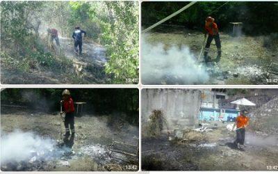Bomberos apagan dos incendios en Huatulco