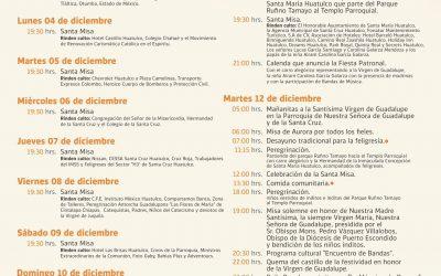 Gran dia de la festividad de Nuestra señora de Guadalupe