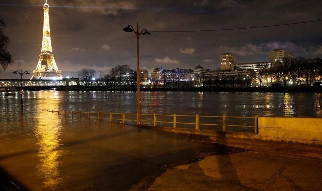París sufre el desborde del río Sena