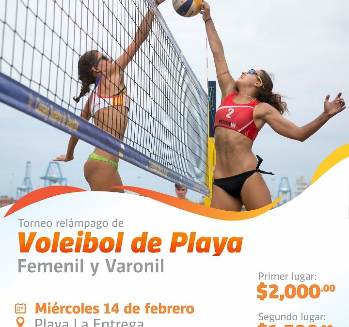 Torneo Relámpago Voleibol Playero