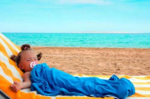 Golpe de calor en bebés: cómo actuar