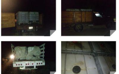 Consignan ante la PGR  vehículos e Hidrocarburo en San Blas Atempa