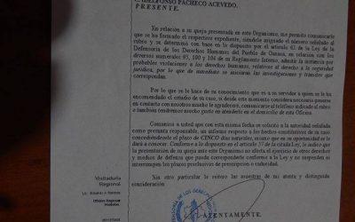 Denuncian en Derechos Humanos a elementos de la Policía Vial de Huatulco,