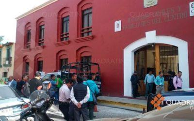Desalojan juzgados Civiles y Familiares del Centro por supuesta bomba