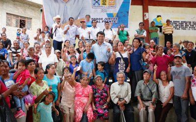 La Costa se pinta de azul y garantiza que Juan Iván será su Diputado Federal